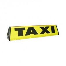 """Angle 30"""" Taxi Roof Sign"""