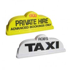 "Bubble 18"" Taxi Roof Sign"