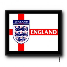 LED England Football flag logo sign
