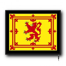 LED Scotland Banner flag logo sign