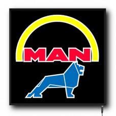 LED MAN logo sign (MA001)