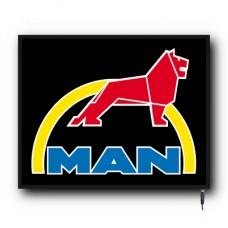 LED MAN logo sign (MA002)