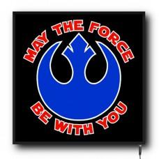 LED Star Wars Rebel Insignia logo sign (MI002)