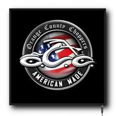 LED Orange County logo sign (MI004)