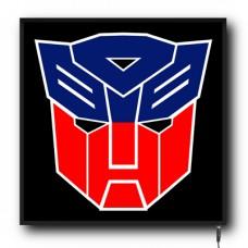 LED Transformers logo sign (MI005)