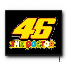 LED Valentino Rossi The Doctor logo sign (MI007)
