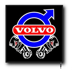LED Volvo Piston logo sign (VO004)