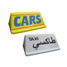 """Local 17"""" Taxi Roof Sign"""