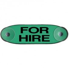 'For Hire' Sign (Horizontal)